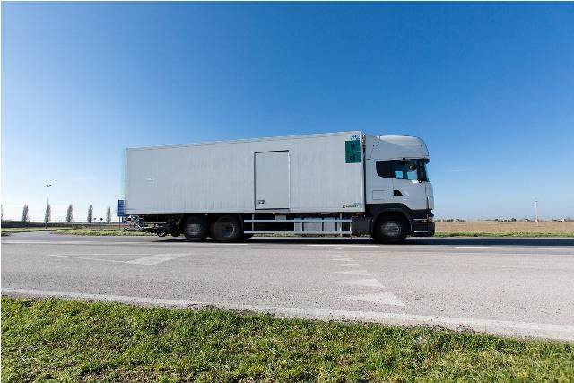 Un parco mezzi all'avanguardia per garantire una logistica al top.